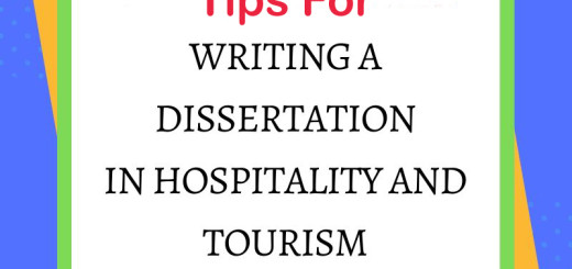 Dissertation in hospitality